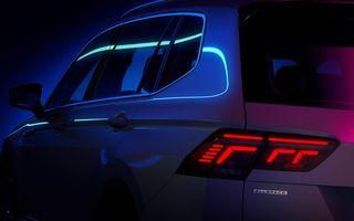 Teaser nou pentru Volkswagen Tiguan Allspace facelift. Debutează în 12 mai