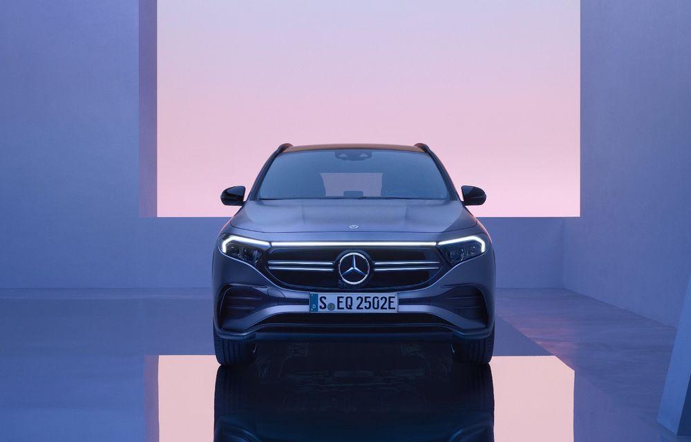Versiuni noi pentru electricul Mercedes-Benz EQA: cea mai puternică are 292 de cai putere - Poza 1