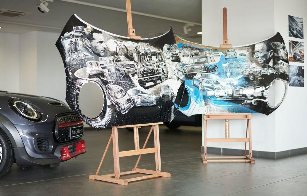 Mini facelift a debutat în România în compania unui proiect de artă, semnat de un pictor român - Poza 1