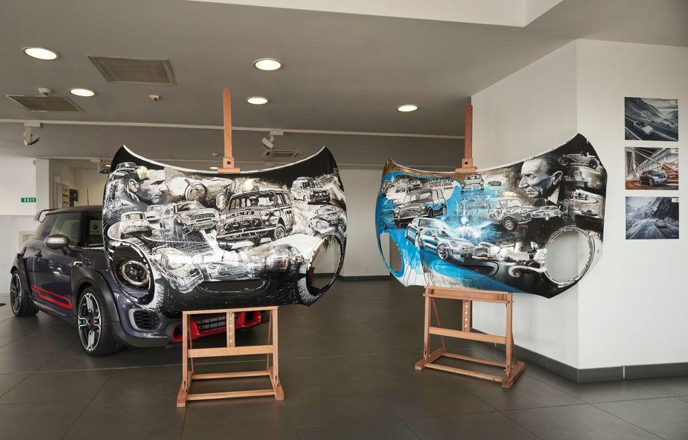 Mini facelift a debutat în România în compania unui proiect de artă, semnat de un pictor român - Poza 9