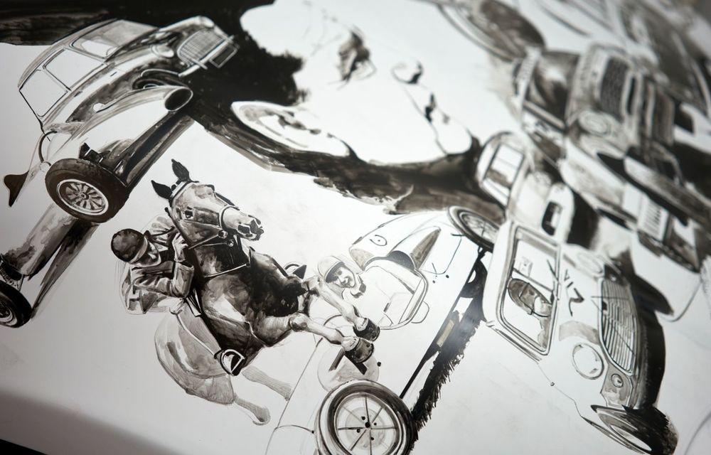 Mini facelift a debutat în România în compania unui proiect de artă, semnat de un pictor român - Poza 4