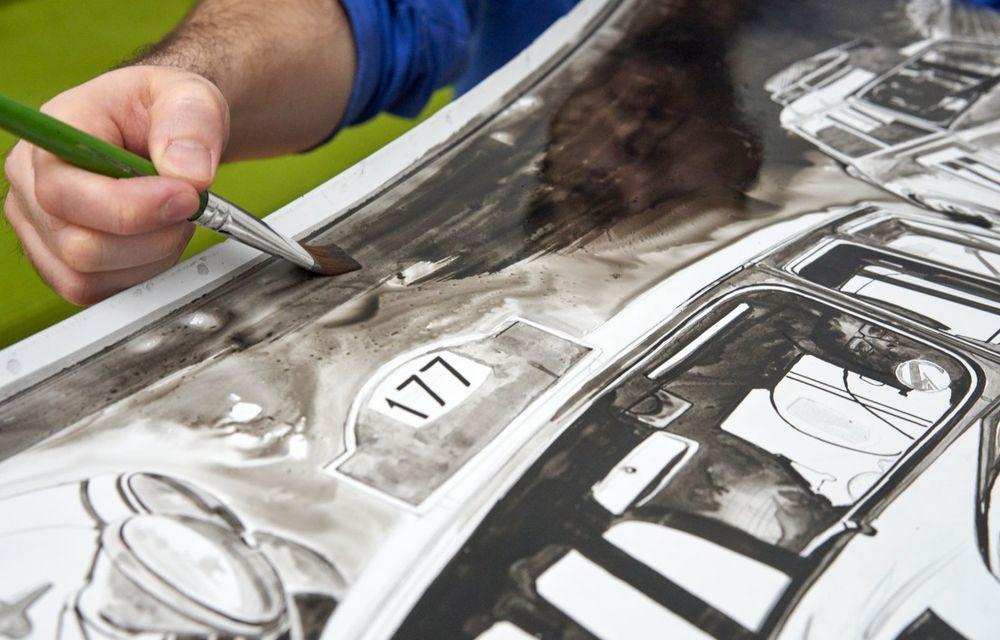 Mini facelift a debutat în România în compania unui proiect de artă, semnat de un pictor român - Poza 3