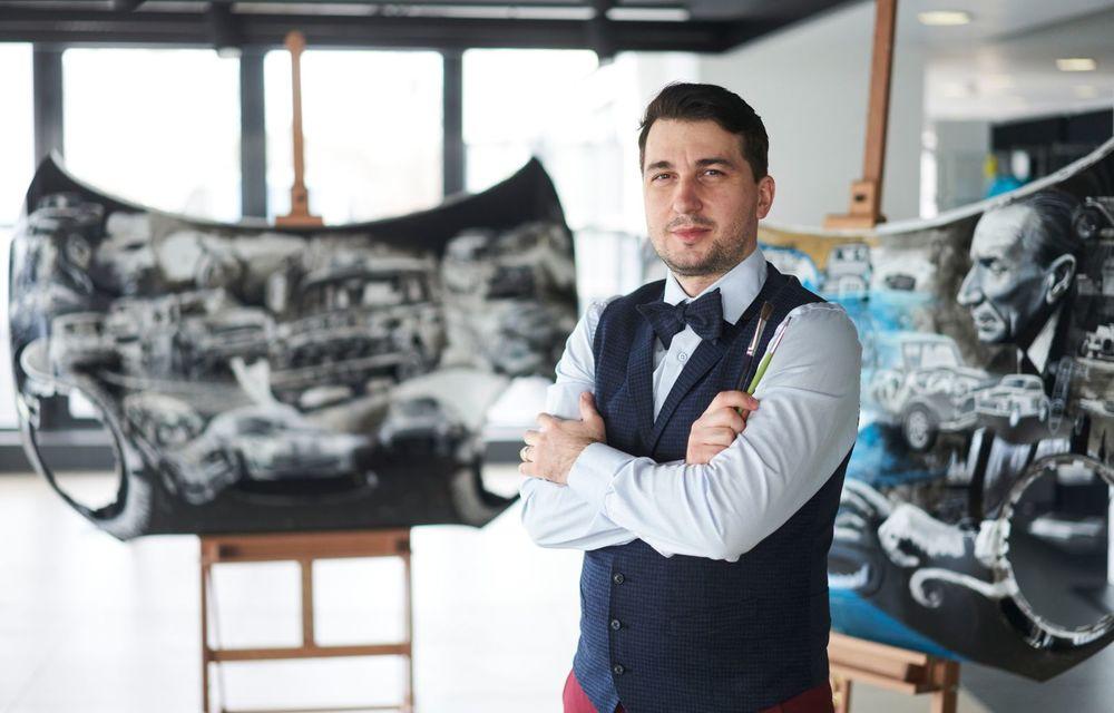 Mini facelift a debutat în România în compania unui proiect de artă, semnat de un pictor român - Poza 10
