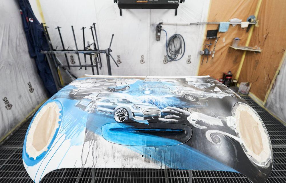 Mini facelift a debutat în România în compania unui proiect de artă, semnat de un pictor român - Poza 16