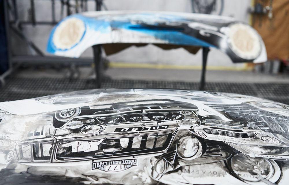 Mini facelift a debutat în România în compania unui proiect de artă, semnat de un pictor român - Poza 14