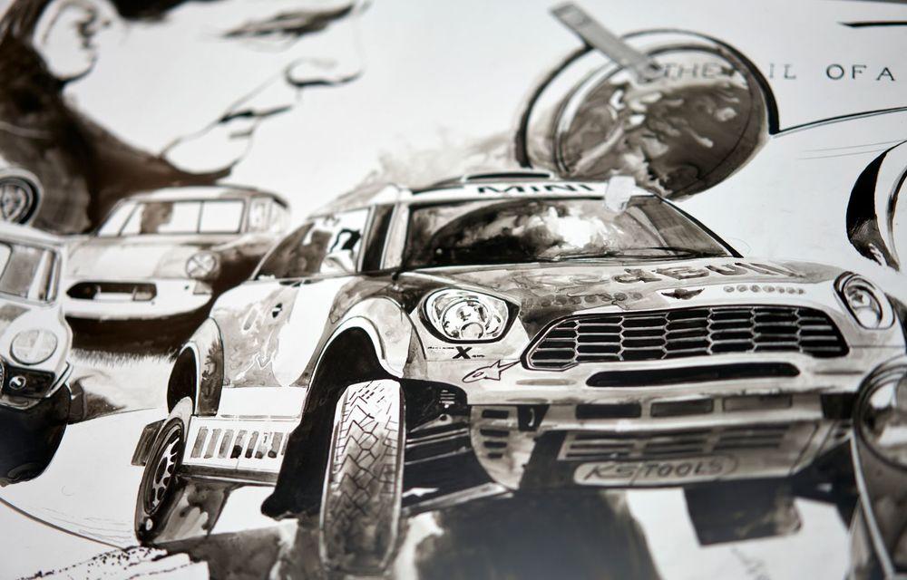 Mini facelift a debutat în România în compania unui proiect de artă, semnat de un pictor român - Poza 6