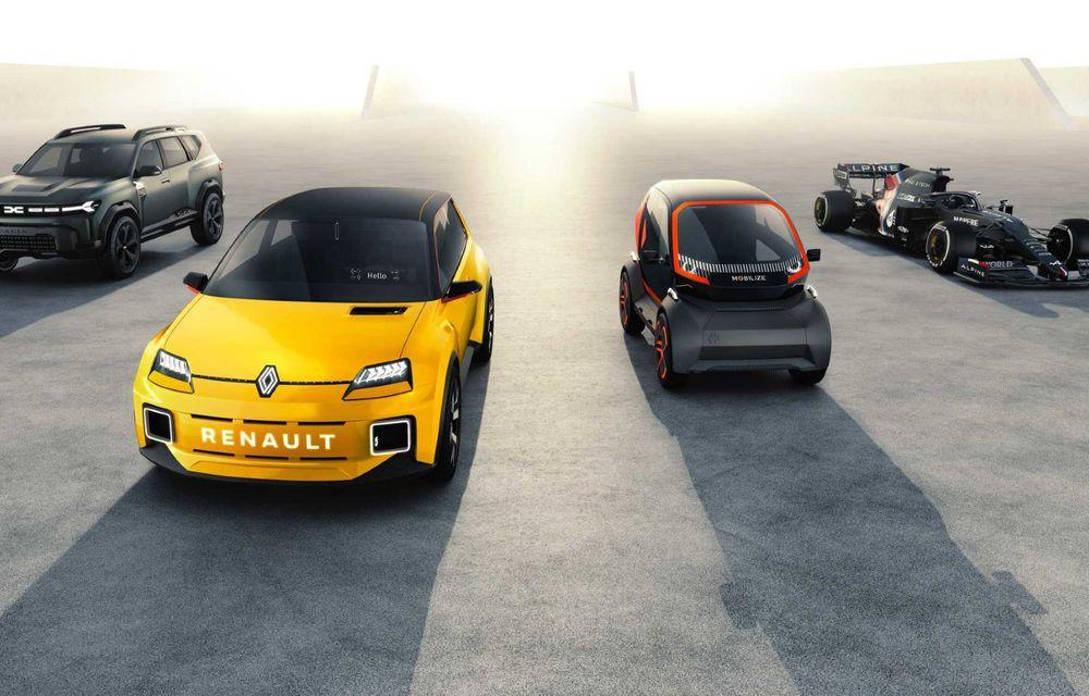 Avalanșă de modele Renault până în 2025: șapte mașini electrificate în segmentele C și D - Poza 1
