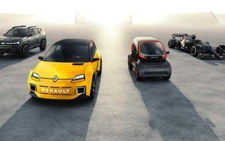 Avalanșă de modele Renault până în 2025: șapte mașini electrificate în segmentele C și D