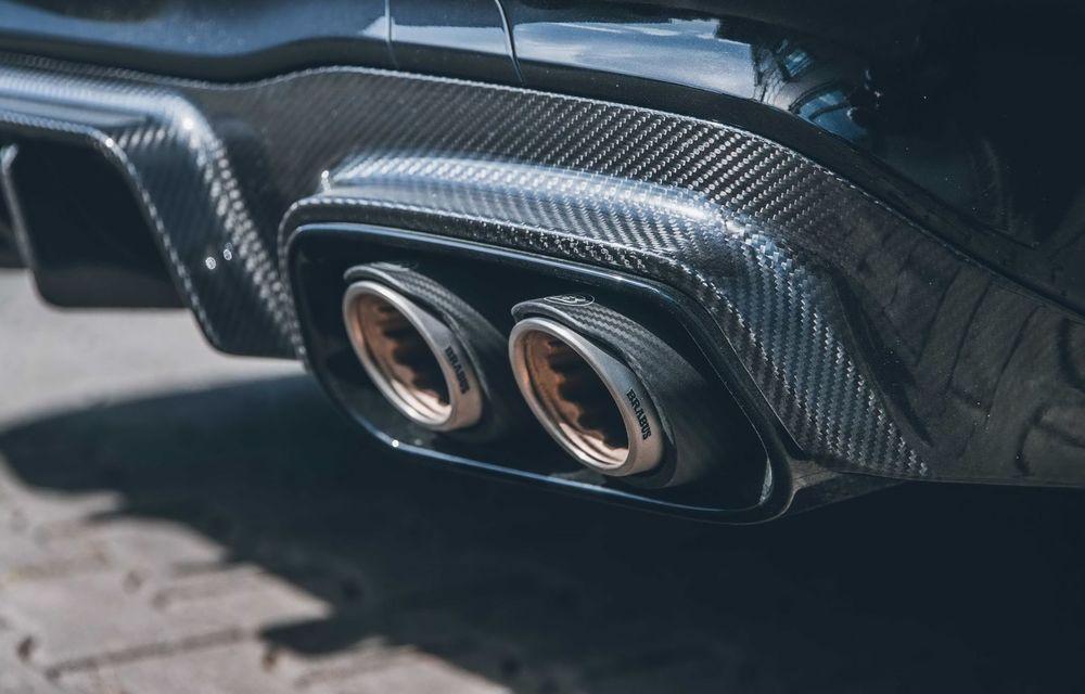 Vi se pare modest un Mercedes-AMG E63? Brabus încarcă 800 de cai sub capota sedanului - Poza 15