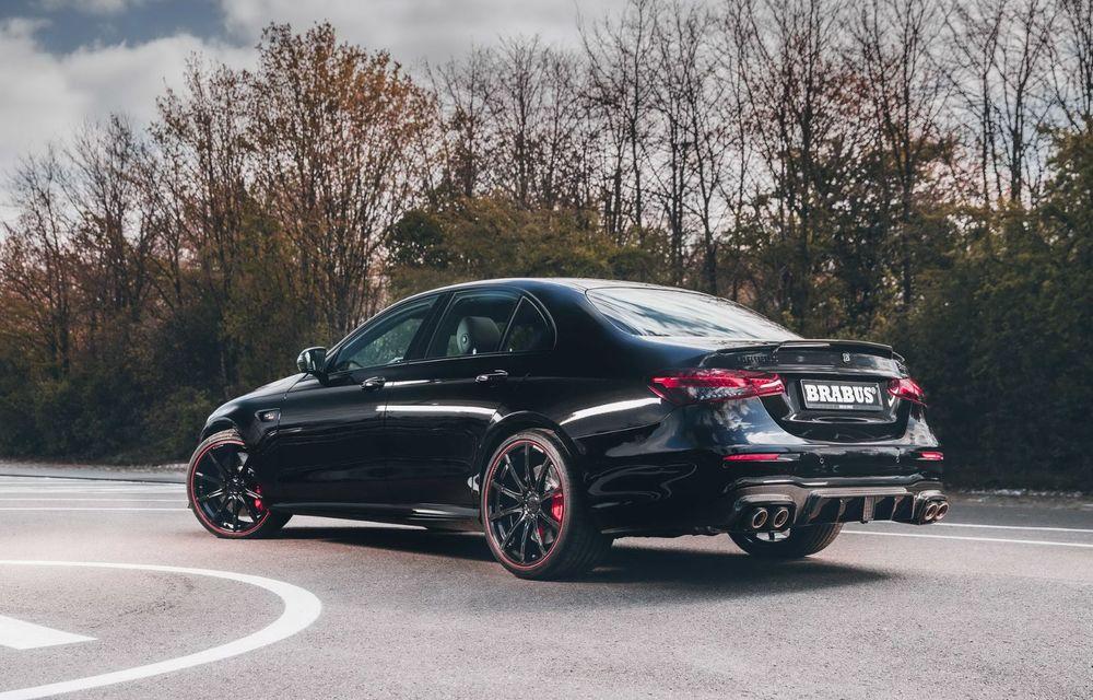 Vi se pare modest un Mercedes-AMG E63? Brabus încarcă 800 de cai sub capota sedanului - Poza 6