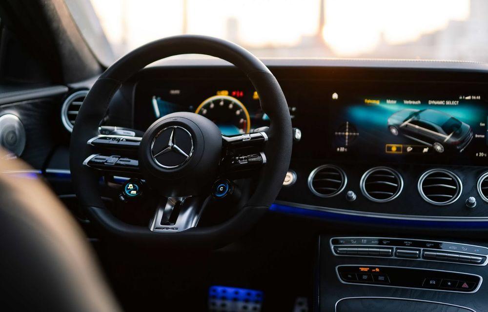 Vi se pare modest un Mercedes-AMG E63? Brabus încarcă 800 de cai sub capota sedanului - Poza 8