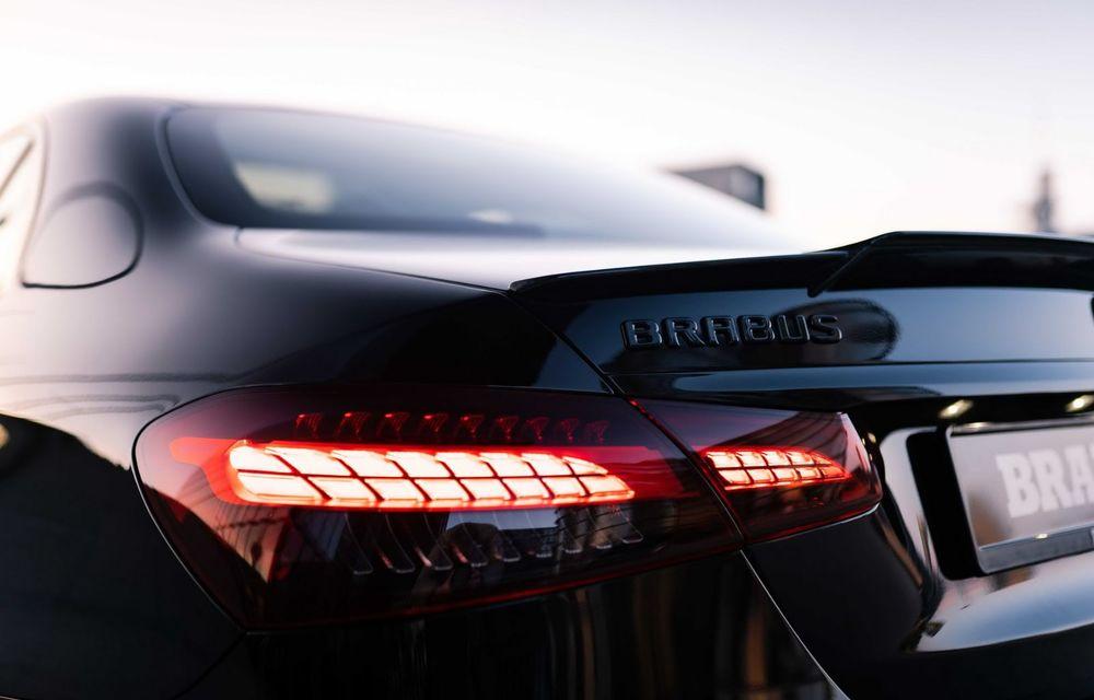 Vi se pare modest un Mercedes-AMG E63? Brabus încarcă 800 de cai sub capota sedanului - Poza 16