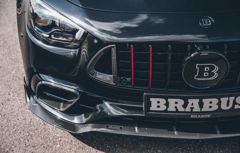 Vi se pare modest un Mercedes-AMG E63? Brabus încarcă 800 de cai sub capota sedanului - Poza 12