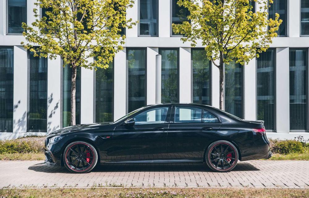 Vi se pare modest un Mercedes-AMG E63? Brabus încarcă 800 de cai sub capota sedanului - Poza 4