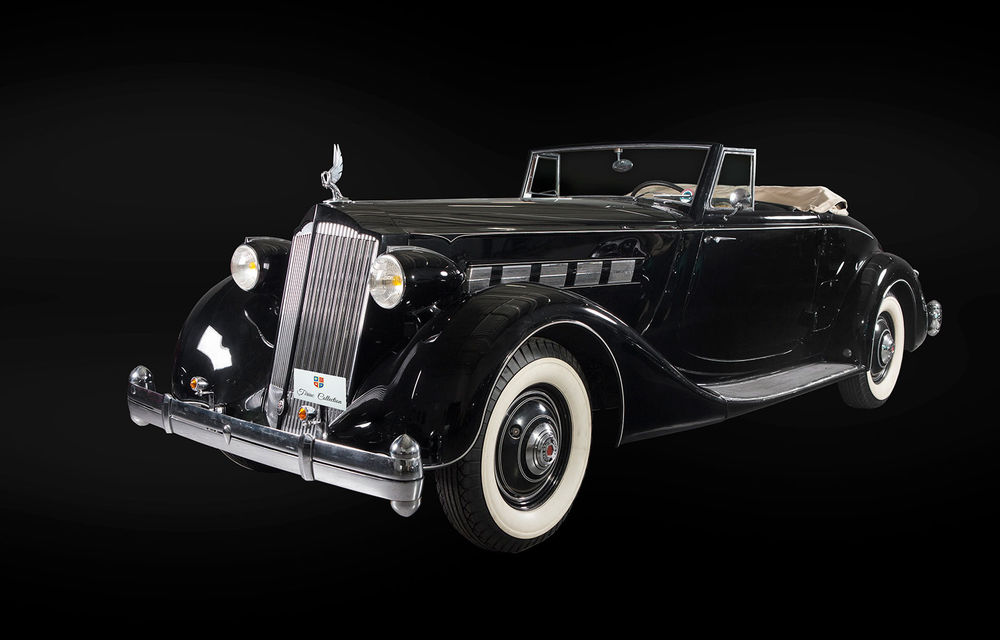 Patru mașini clasice din Galeria Țiriac Collection, expuse la Muzeul Satului din București - Poza 2