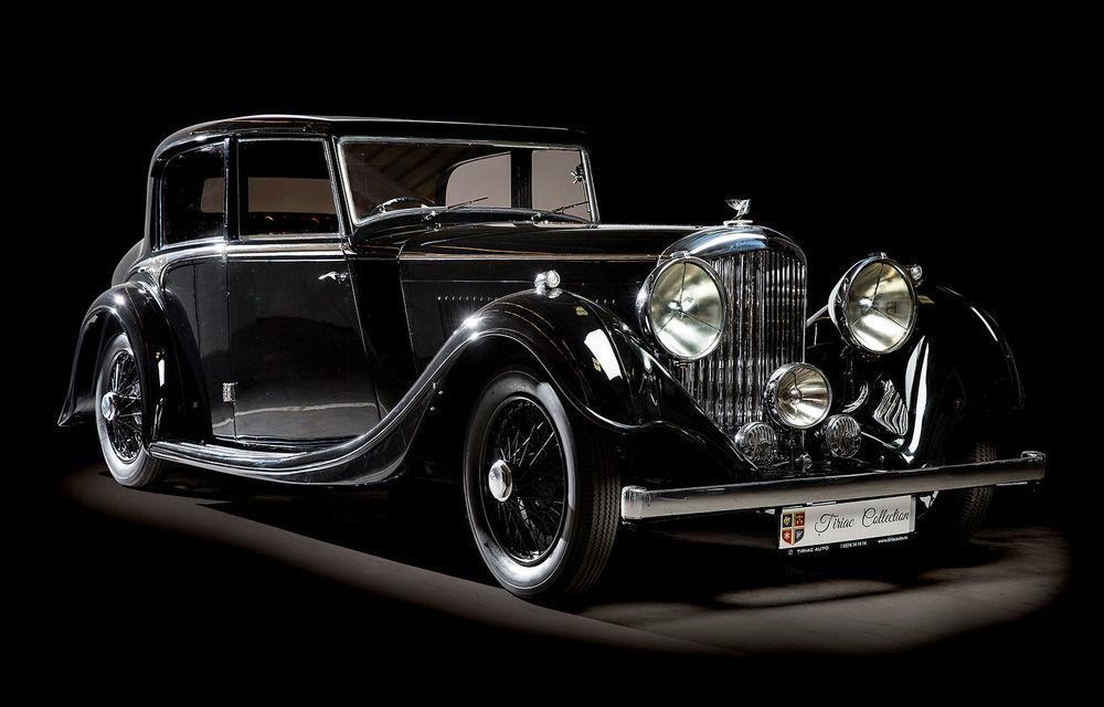 Patru mașini clasice din Galeria Țiriac Collection, expuse la Muzeul Satului din București - Poza 1