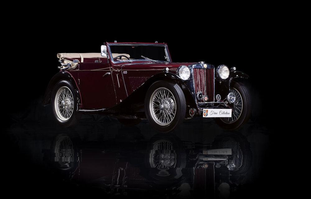 Patru mașini clasice din Galeria Țiriac Collection, expuse la Muzeul Satului din București - Poza 4