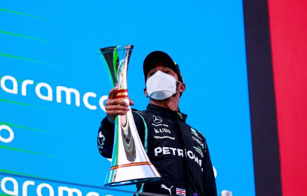 Weekend perfect pentru Lewis Hamilton în Spania: pole-ul cu numărul 100 și victorie - Poza 7