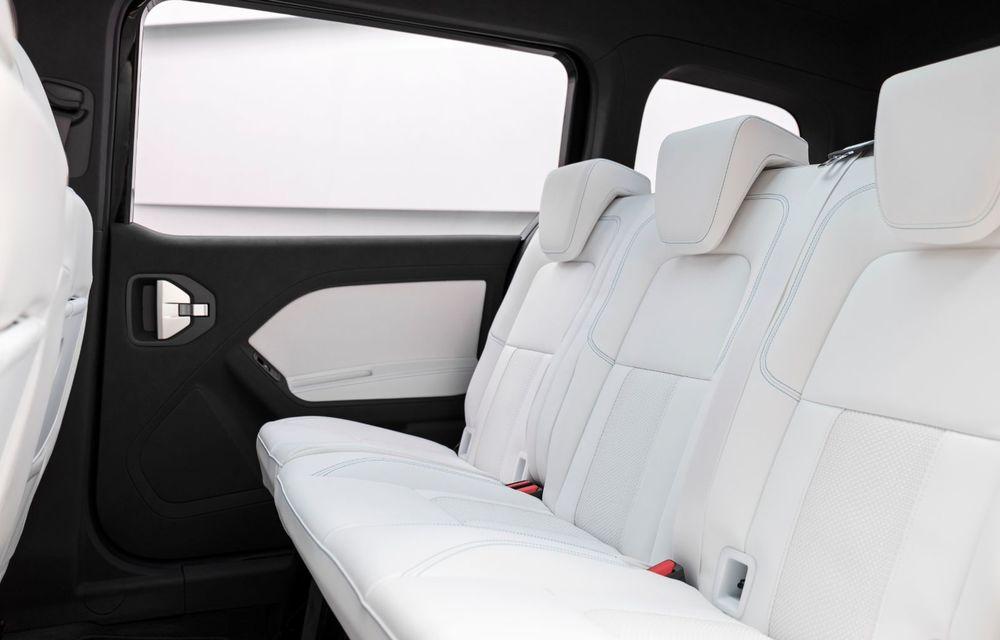Conceptul Mercedes-Benz EQT a debutat oficial. Anunță lansarea unei autoutilitare urbane cu zero emisii - Poza 14