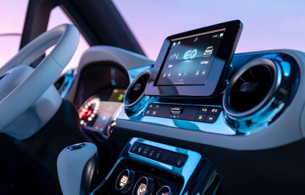 Conceptul Mercedes-Benz EQT a debutat oficial. Anunță lansarea unei autoutilitare urbane cu zero emisii - Poza 12