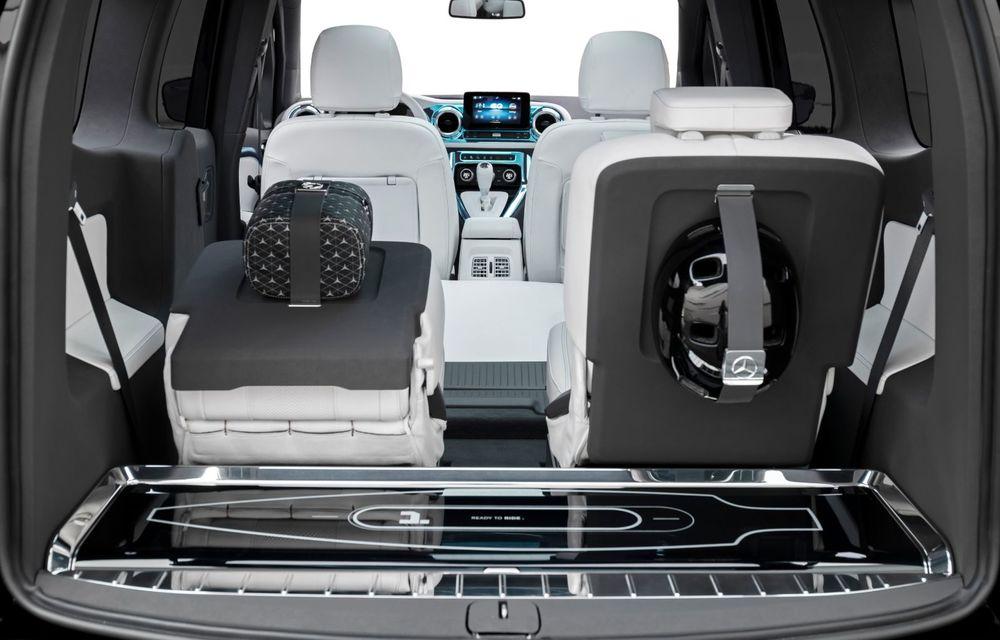 Conceptul Mercedes-Benz EQT a debutat oficial. Anunță lansarea unei autoutilitare urbane cu zero emisii - Poza 13