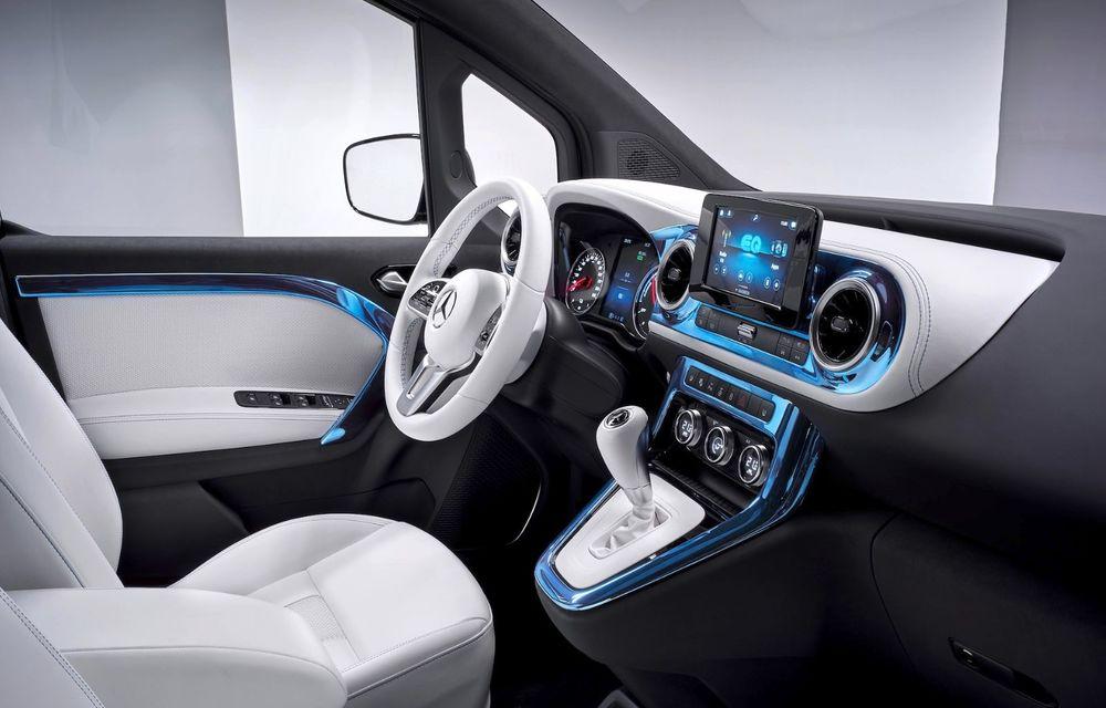 Conceptul Mercedes-Benz EQT a debutat oficial. Anunță lansarea unei autoutilitare urbane cu zero emisii - Poza 11