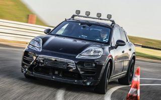 Primele imagini cu Porsche Macan electric: lansare în 2023