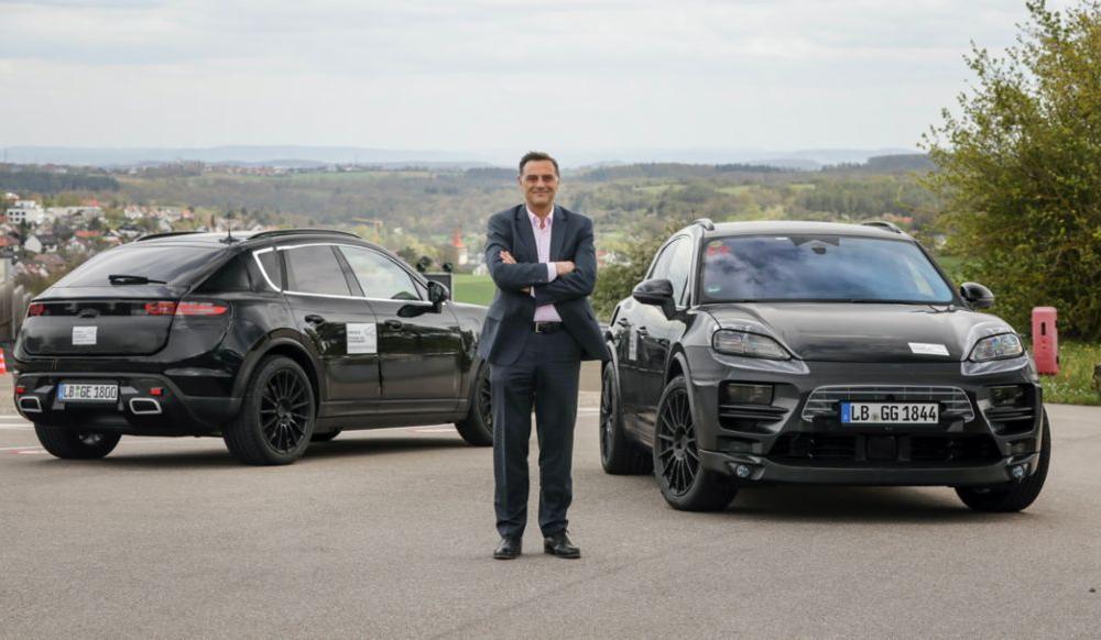 Primele imagini cu Porsche Macan electric: lansare în 2023 - Poza 3