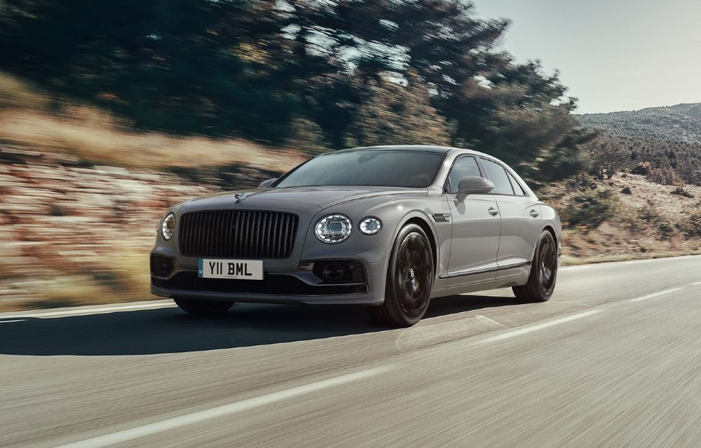 Îmbunătățiri pentru Bentley Flying Spur: mai multe dotări standard și un habitaclu mai silențios - Poza 1