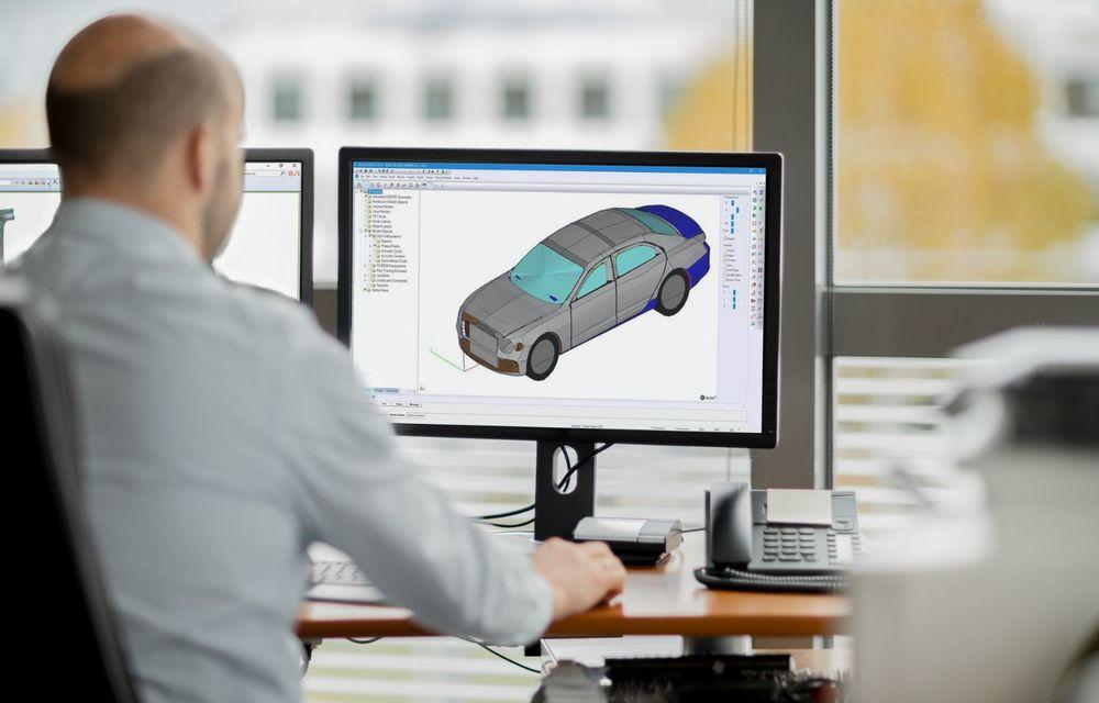 Îmbunătățiri pentru Bentley Flying Spur: mai multe dotări standard și un habitaclu mai silențios - Poza 4