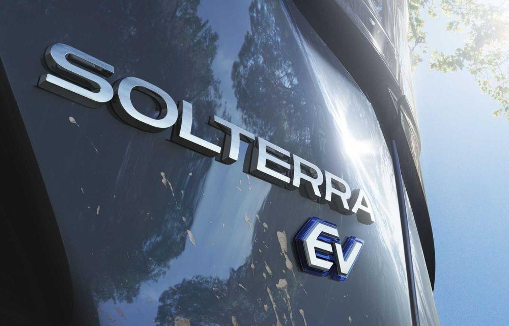 Subaru a ales denumirea Solterra pentru viitorul său SUV electric. Debutează pe piață în 2022 - Poza 2