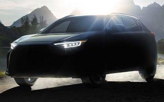 Subaru a ales denumirea Solterra pentru viitorul său SUV electric. Debutează pe piață în 2022