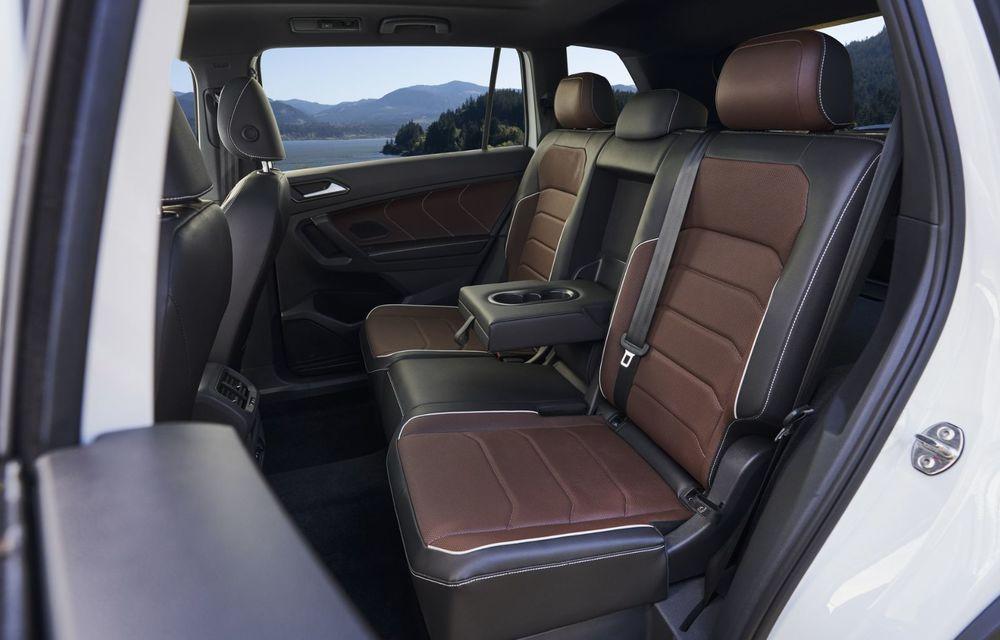 Volkswagen Tiguan Allspace facelift: îmbunătățiri estetice discrete și mai multă tehnologie în standard - Poza 12