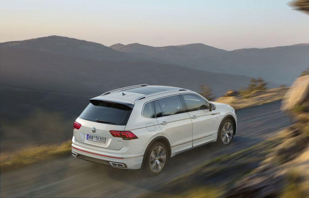 Volkswagen Tiguan Allspace facelift: îmbunătățiri estetice discrete și mai multă tehnologie în standard - Poza 7