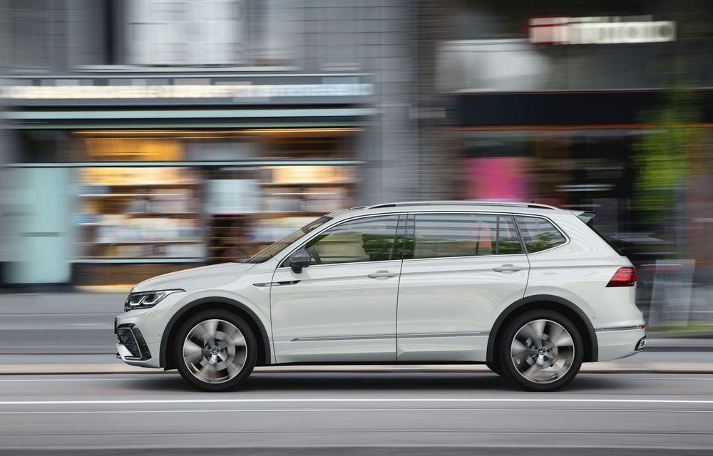 Volkswagen Tiguan Allspace facelift: îmbunătățiri estetice discrete și mai multă tehnologie în standard - Poza 4