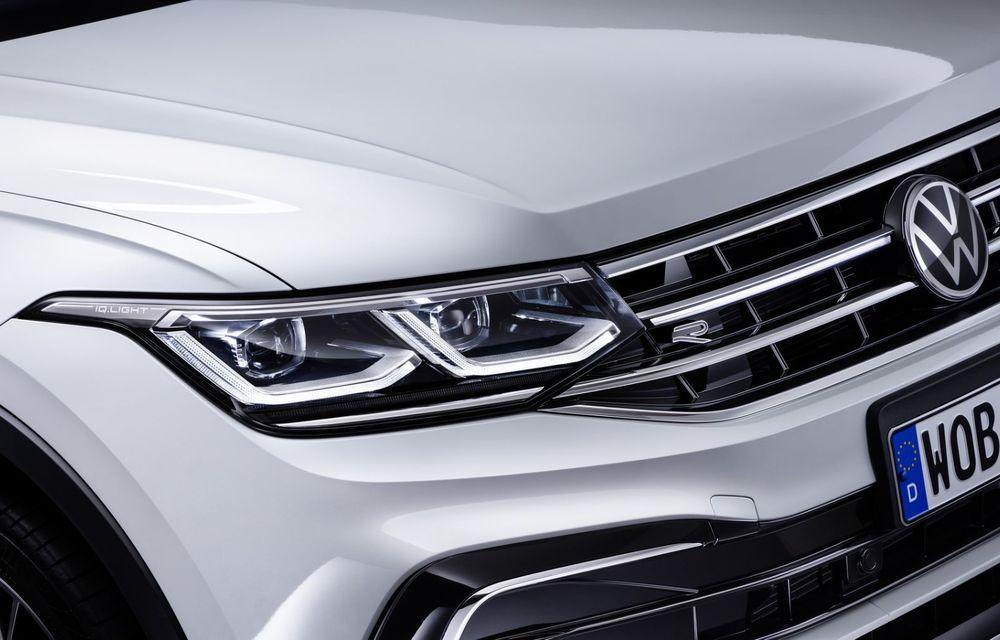 Volkswagen Tiguan Allspace facelift: îmbunătățiri estetice discrete și mai multă tehnologie în standard - Poza 18