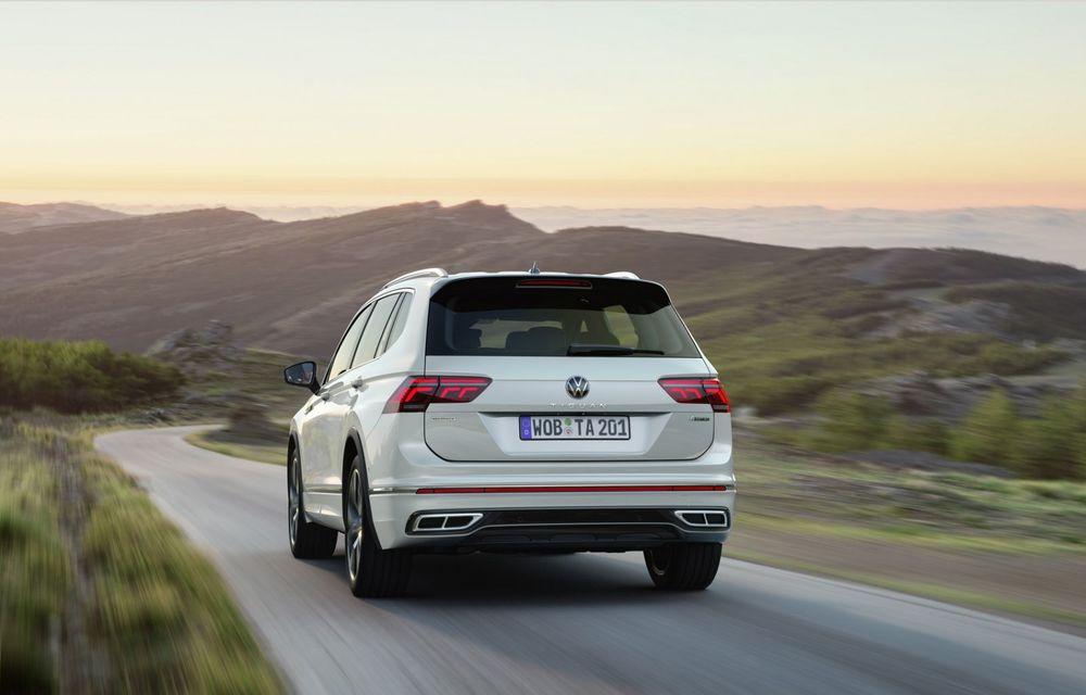 Volkswagen Tiguan Allspace facelift: îmbunătățiri estetice discrete și mai multă tehnologie în standard - Poza 6