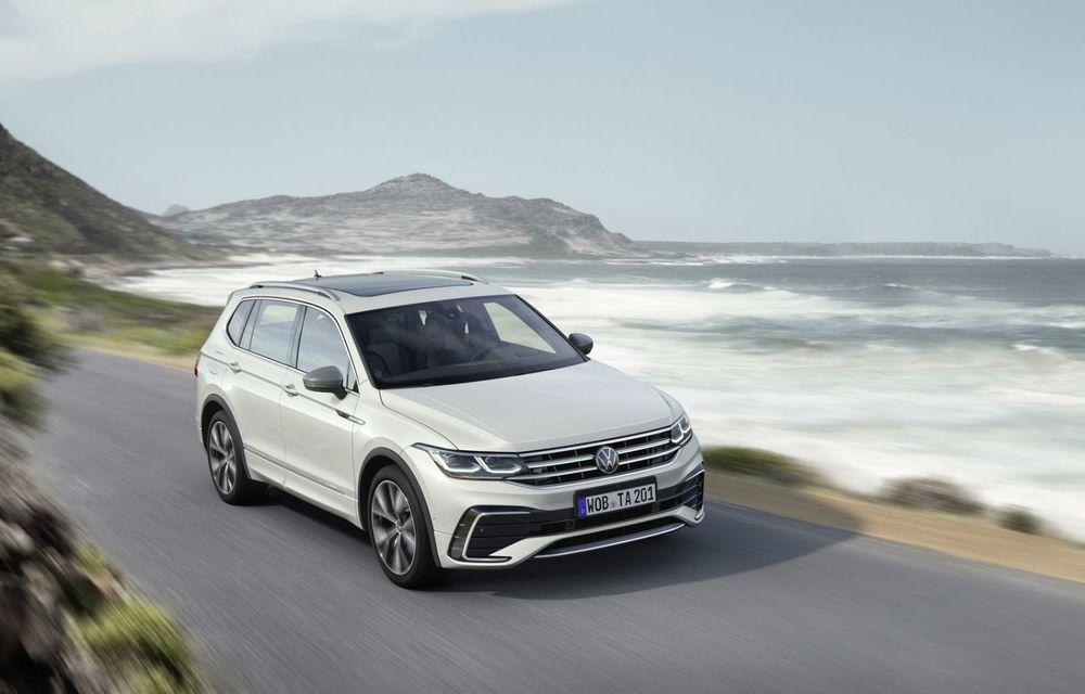 Volkswagen Tiguan Allspace facelift: îmbunătățiri estetice discrete și mai multă tehnologie în standard - Poza 2