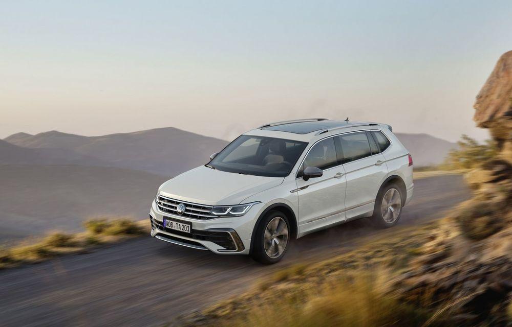 Volkswagen Tiguan Allspace facelift: îmbunătățiri estetice discrete și mai multă tehnologie în standard - Poza 3