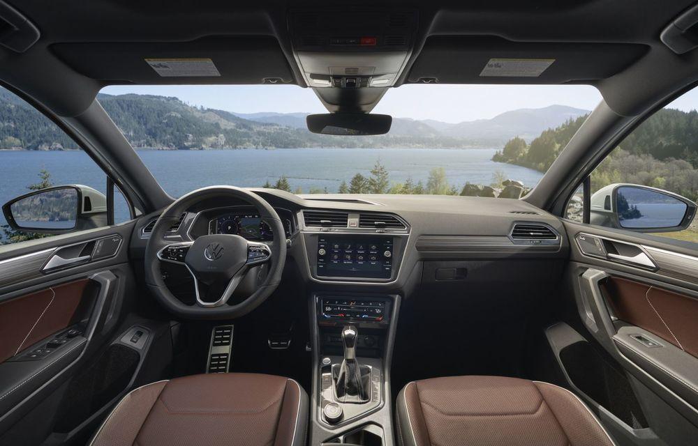 Volkswagen Tiguan Allspace facelift: îmbunătățiri estetice discrete și mai multă tehnologie în standard - Poza 10
