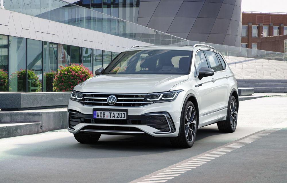 Volkswagen Tiguan Allspace facelift: îmbunătățiri estetice discrete și mai multă tehnologie în standard - Poza 1