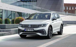 Volkswagen Tiguan Allspace facelift: îmbunătățiri estetice discrete și mai multă tehnologie în standard