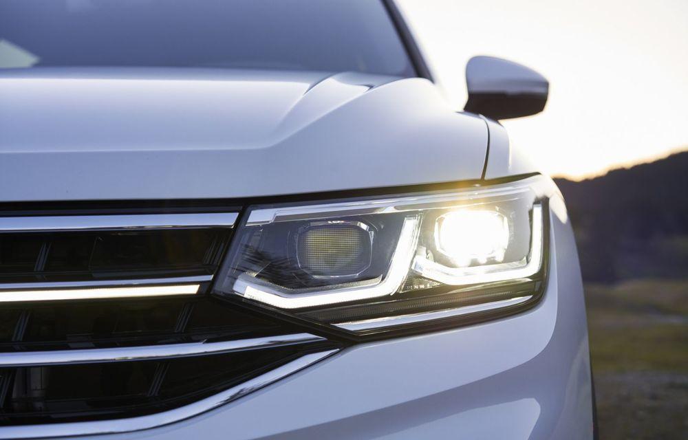 Volkswagen Tiguan Allspace facelift: îmbunătățiri estetice discrete și mai multă tehnologie în standard - Poza 17