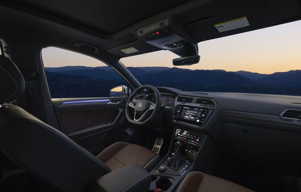 Volkswagen Tiguan Allspace facelift: îmbunătățiri estetice discrete și mai multă tehnologie în standard - Poza 9