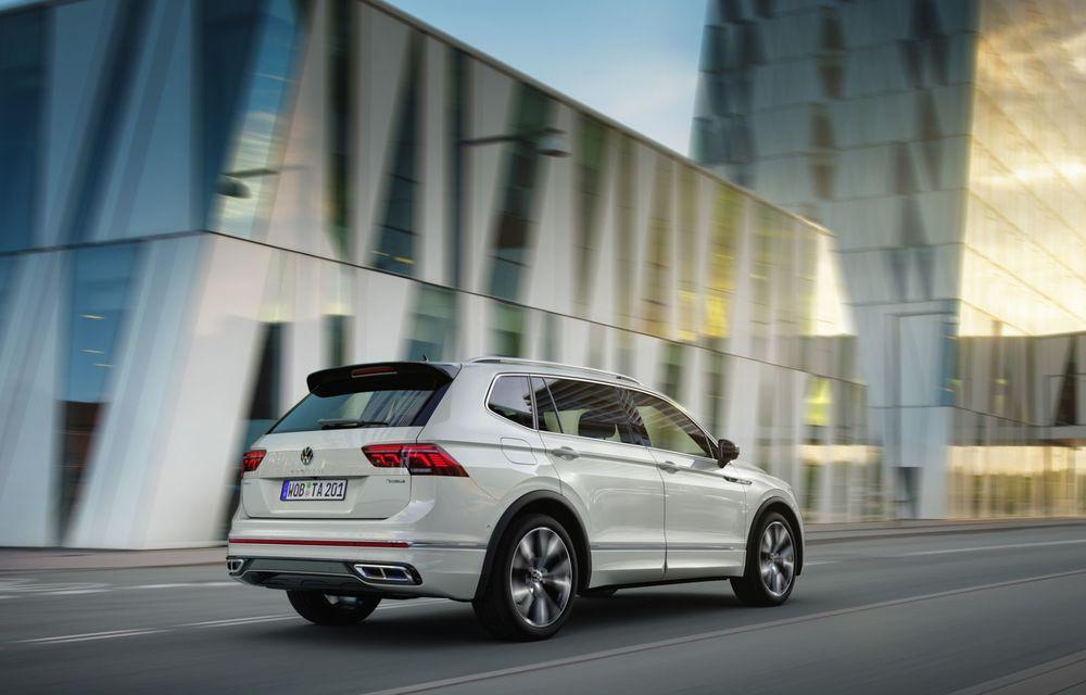 Volkswagen Tiguan Allspace facelift: îmbunătățiri estetice discrete și mai multă tehnologie în standard - Poza 5