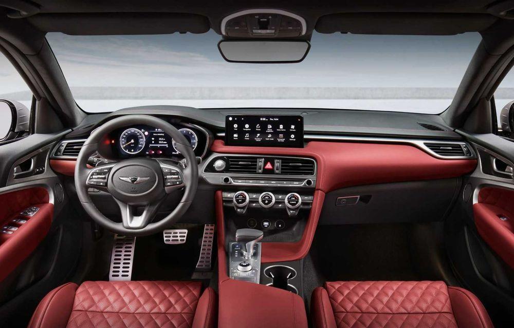 Genesis debarcă oficial în Europa cu un rival pentru Audi A4 Avant: noul G70 Shooting Brake - Poza 6