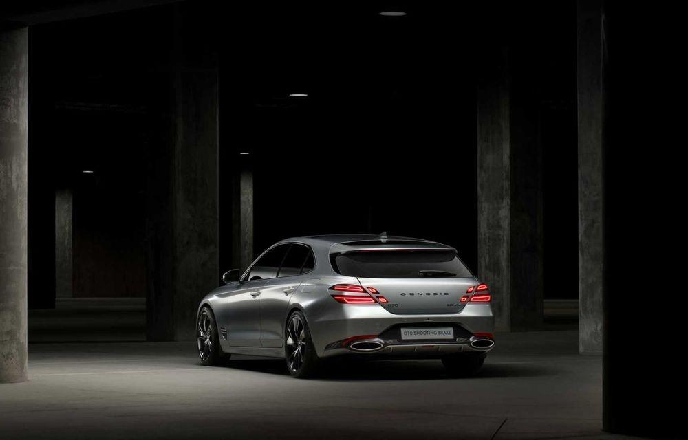 Genesis debarcă oficial în Europa cu un rival pentru Audi A4 Avant: noul G70 Shooting Brake - Poza 3