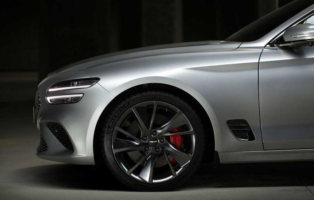 Genesis debarcă oficial în Europa cu un rival pentru Audi A4 Avant: noul G70 Shooting Brake - Poza 7
