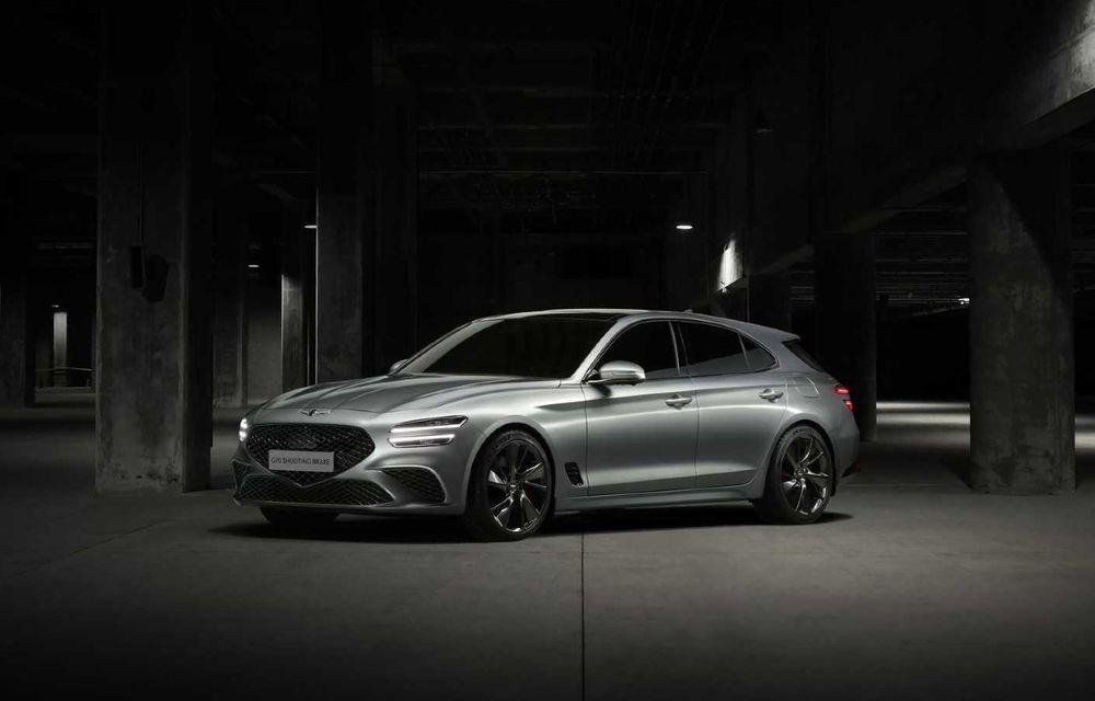 Genesis debarcă oficial în Europa cu un rival pentru Audi A4 Avant: noul G70 Shooting Brake - Poza 1
