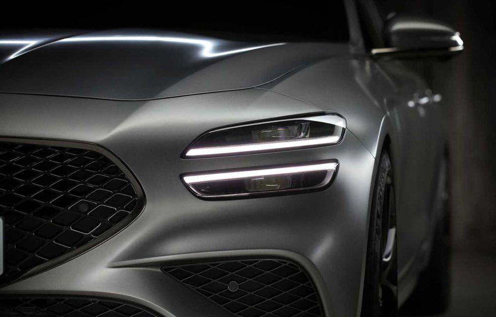 Genesis debarcă oficial în Europa cu un rival pentru Audi A4 Avant: noul G70 Shooting Brake - Poza 5